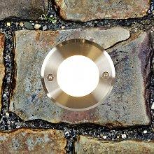 Foco de suelo LED empotrado LED-18 redondo