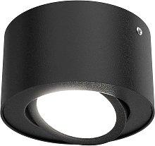 Foco de techo LED 7121-015 en negro