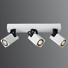Foco de techo LED blanco Roax, 3 luces