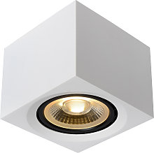 Foco de techo LED Fedler angular blanco