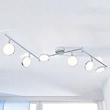 Foco de techo LED Keylan, 6 focos