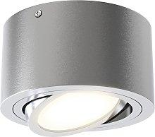Foco de techo LED Tube 7121-014 en plata