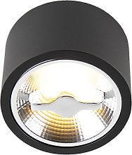 Foco de techo moderno negro AR111 LED - EXPERT