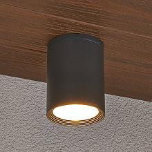 Foco de techo para exterioresMinna gris oscuro