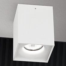 Foco de techo Starlight rectangular, blanco