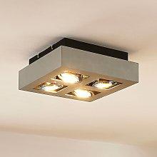 Foco de techo Vince con bombillas LED GU10
