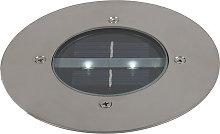 Foco de tierra LED solar IP44 - JORDEN