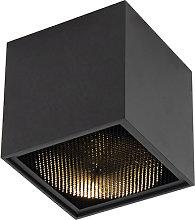 Foco diseño negro - BOX Honey
