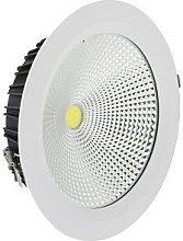 Foco Downlight LED 30W Cobslim Circular Blanco