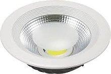 Foco Downlight LED 40W Cobslim Circular Blanco