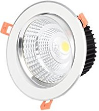 Foco Downlight LED 7W (ARO BLANCO CALIDA)