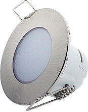 Foco downlight LED CobCarbon Round 5W IP54 Blanco