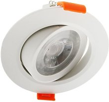 Foco downlight LED CobMon 7W Blanco Cálido 3000K