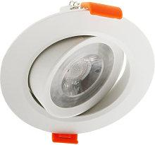 Foco downlight LED CobMon 7W Blanco Neutro 4500K |