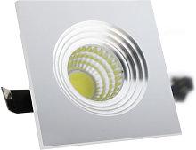 Foco downlight LED Soul Square 3W Blanco Cálido