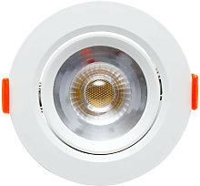Foco downlight m 7w 630 lm - 4500k