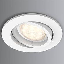 Foco empotr. LED Shellbark blanco efecto Warmglow