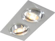 Foco empotrable aluminio orientable - LOCK 2