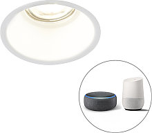 Foco empotrable blanco 1-bombilla-WiFi-GU10 - DEPT