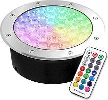 Foco empotrable FOKUA LED 24W, RGB, RF, RGB,