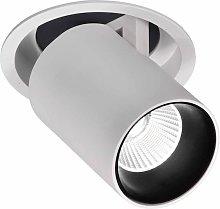 Foco empotrable LED blanca 12W luz cálida GARDA