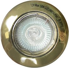 Foco empotrable oro viejo (50W halógena)