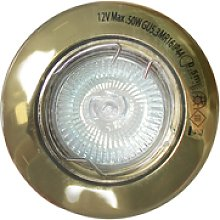 Foco Empotrable Oro Viejo 50W Halógena