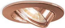 Foco empotrado cobre orientable - EDU
