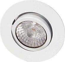 foco empotrado de techo LED Rico 9 W, blanco