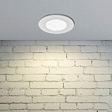 Foco empotrado LED Kamilla, blanco, IP65, 7W