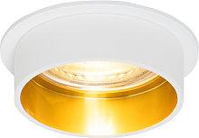 Foco empotrado moderno blanco dorado - INSTA