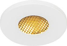 Foco empotrado moderno blanco IP54 - SHED Honey