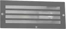 Foco empotrado moderno gris oscuro IP44 - HURRICANE