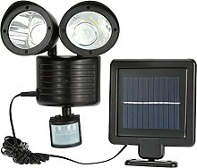 Foco exterior DealMux 22 LED detector de seguridad