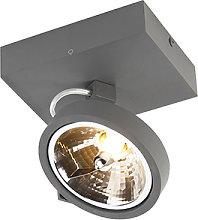 Foco gris 1 LED - GO