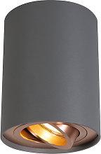 Foco gris cobre giratorio e inclinable - RONDOO 1