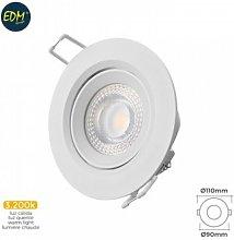 Foco ilumin 5w 380lm 3200k Ø7,4x11x9cm downlight