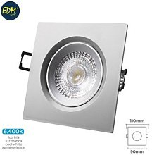 Foco ilumin 5w 380lm 6400k Ø7,4x11x9cm downlight