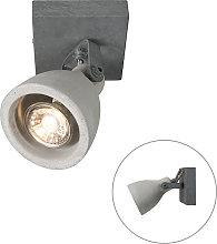 Foco industrial gris hormigón 1-luz - CRETO