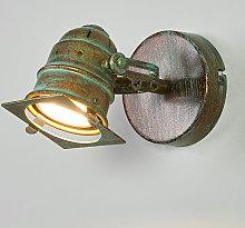 Foco Janek con bombilla LED y óptica en verdete