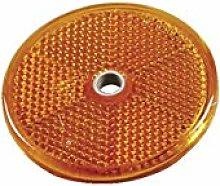 Foco Lateral Amarillo de 60 mm de diámetro.