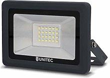 Foco LED, 20W, 1600lúmenes, IP65, antracita