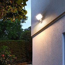 Foco LED AL 3000 P PIR 30 W 12 m IP44 - Gris -