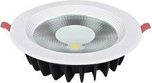 Foco LED COB downlight redondo 15 W