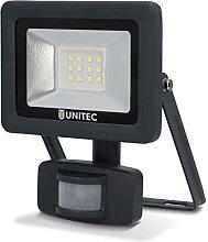 Foco LED con detector de movimiento, 10W,