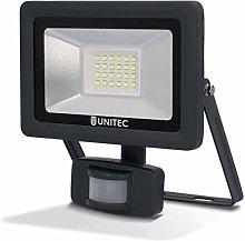 Foco LED con detector de movimiento, 20W,