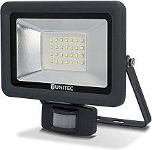 Foco LED con detector de movimiento, 30W,