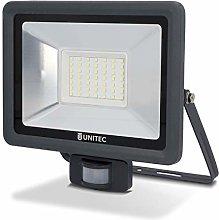 Foco LED con detector de movimiento, 50W,