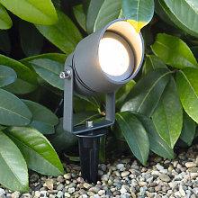 Foco LED con pica Linosa, giratorio