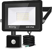 Foco LED con Sensor de Movimiento,Blivrig 30W